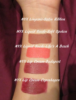 NYX lip review